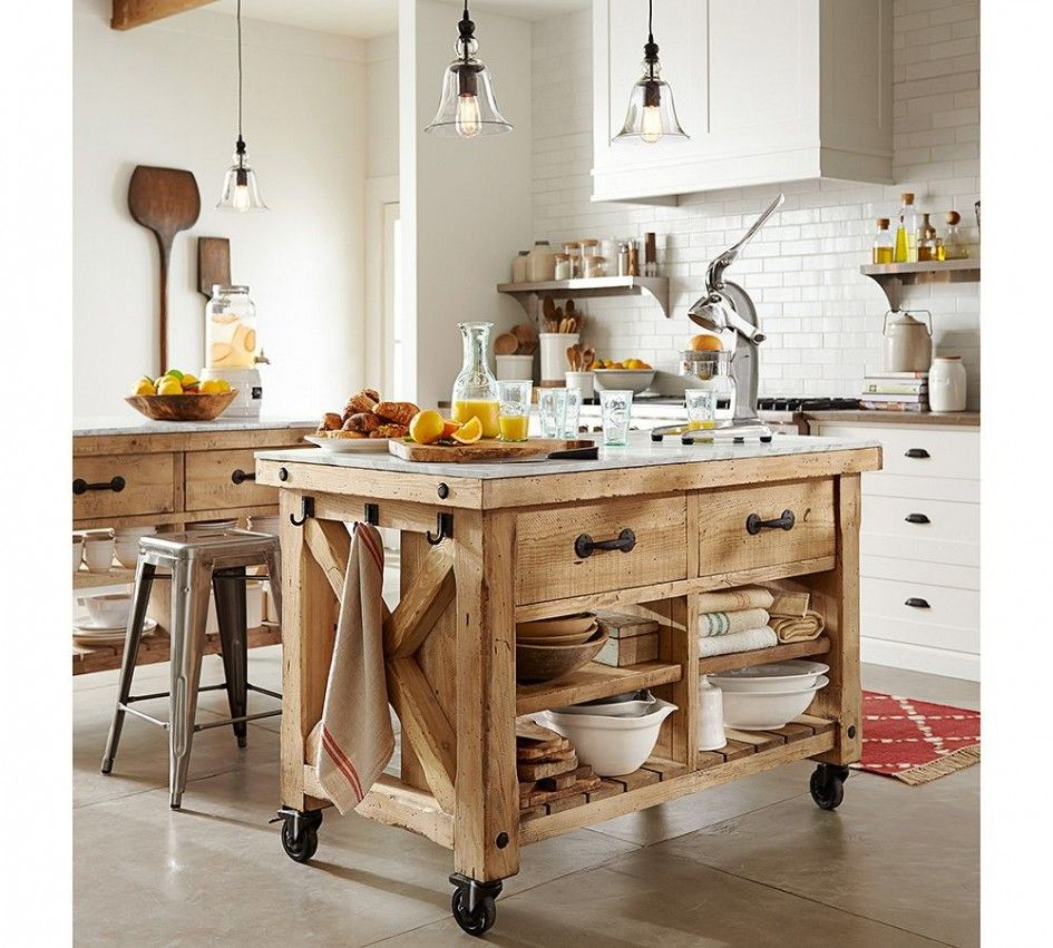 Primitive kitchen island with wheels google search home decor
