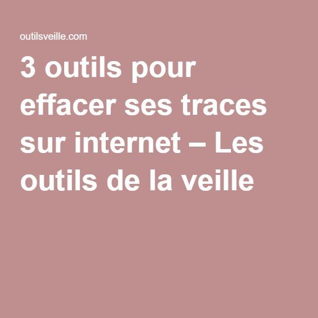 3 outils pour effacer ses traces sur internet \u2013 Les outils de la - Logiciel De Dessin De Maison Gratuit