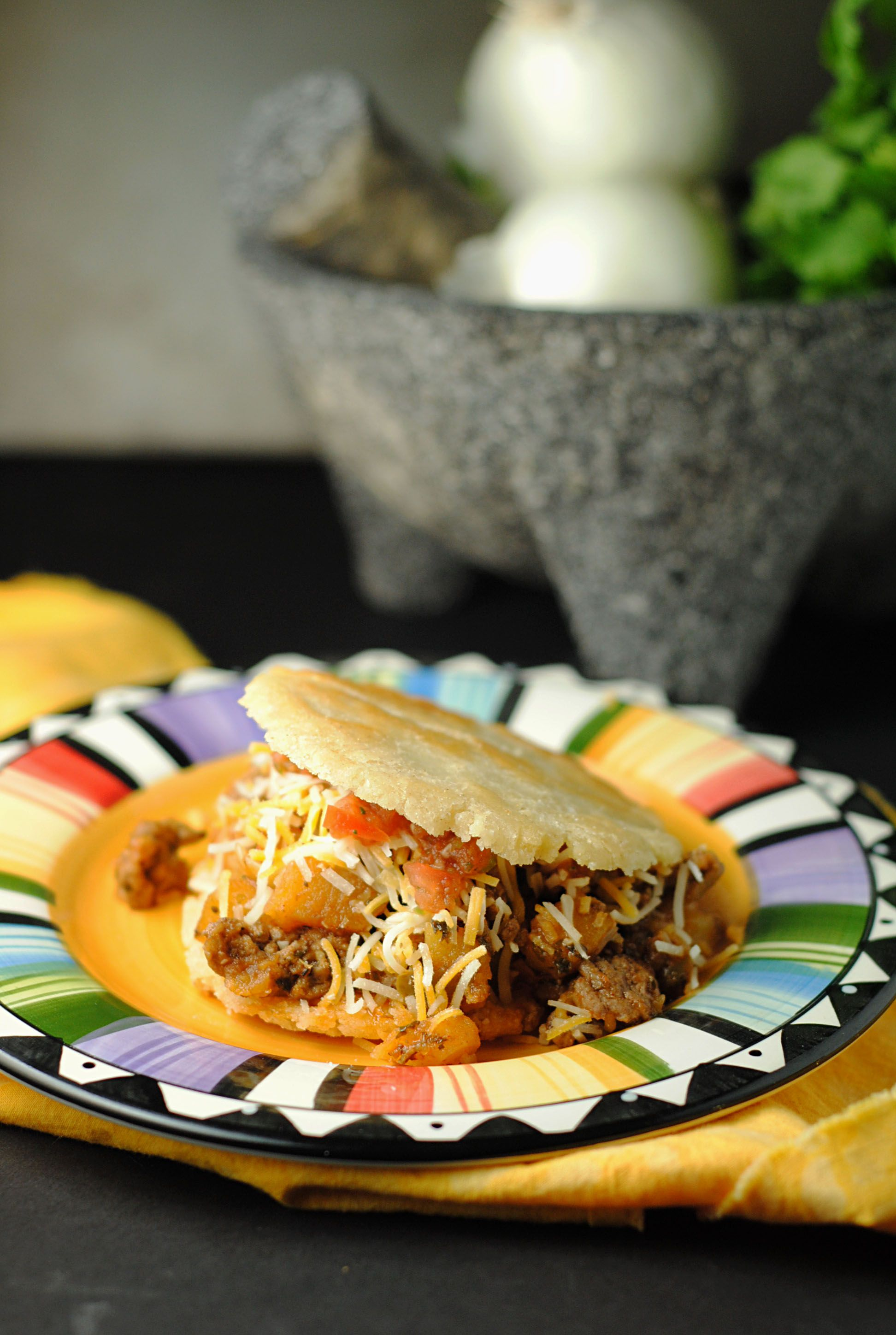 Gorditas with picadillo from jen juanitas cocina with