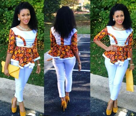 modern african attire designs - Google Search   At an African ...