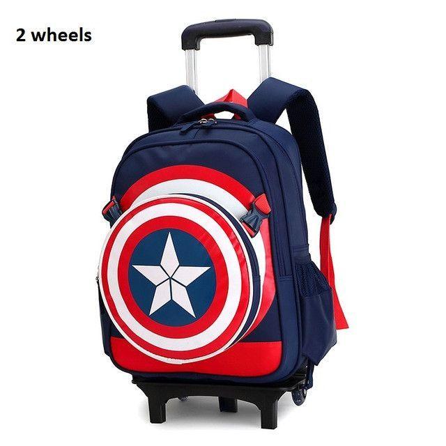 Rolling school backpacks girls and boys trolley bags school bag wheels  backpack schoolbag teenage girl bookbag mochila bolsos db1b14b5ae