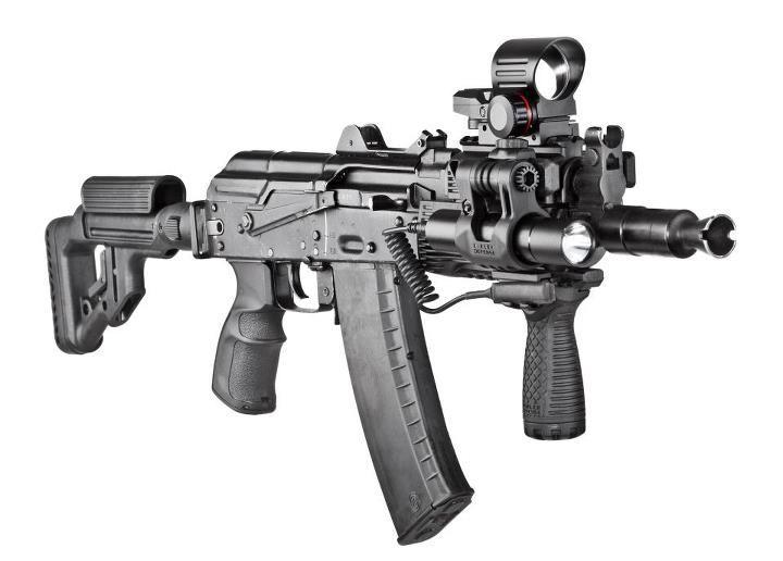 AKS-74U (Krinkov) short assault rifle