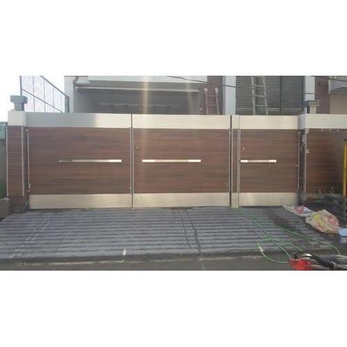 House Main Gate Designs Steel Gate Design Sliding Gate: Image Result For Stainless Steel Sliding Gate Design