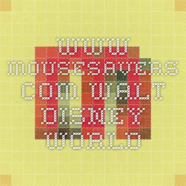www.mousesavers.com - Walt Disney World