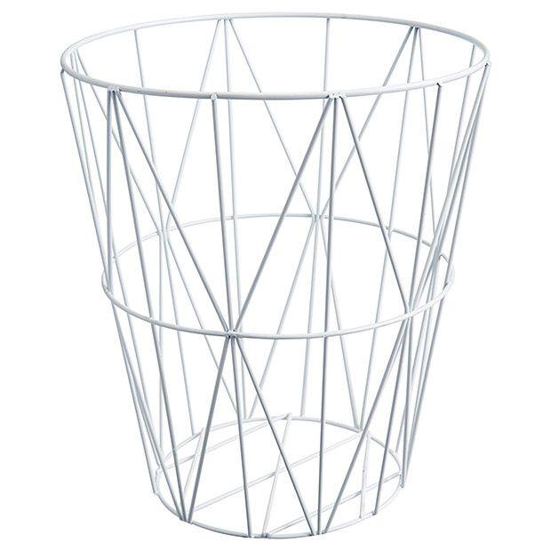 lisa t wire waste paper basket