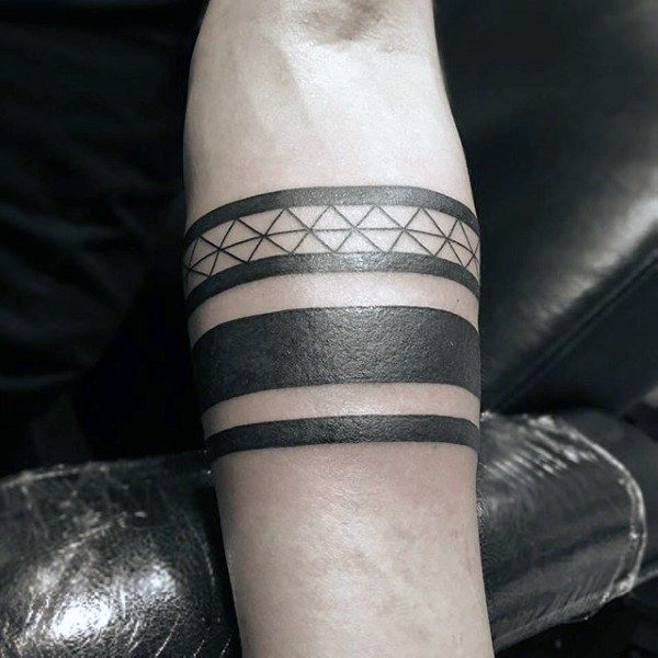 tribal male black band forearm tattoos arm band tattoo. Black Bedroom Furniture Sets. Home Design Ideas