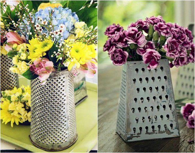 Elegant Gartendeko Selber Machen Vase Blume Tischdeko Party