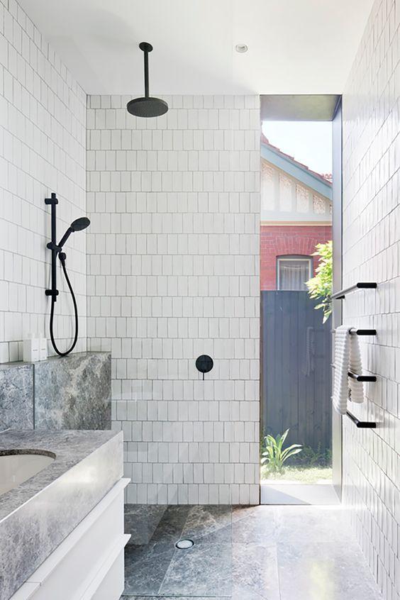 10x Douche uit plafond | Badkamer inspiratie | Pinterest - Plafond ...