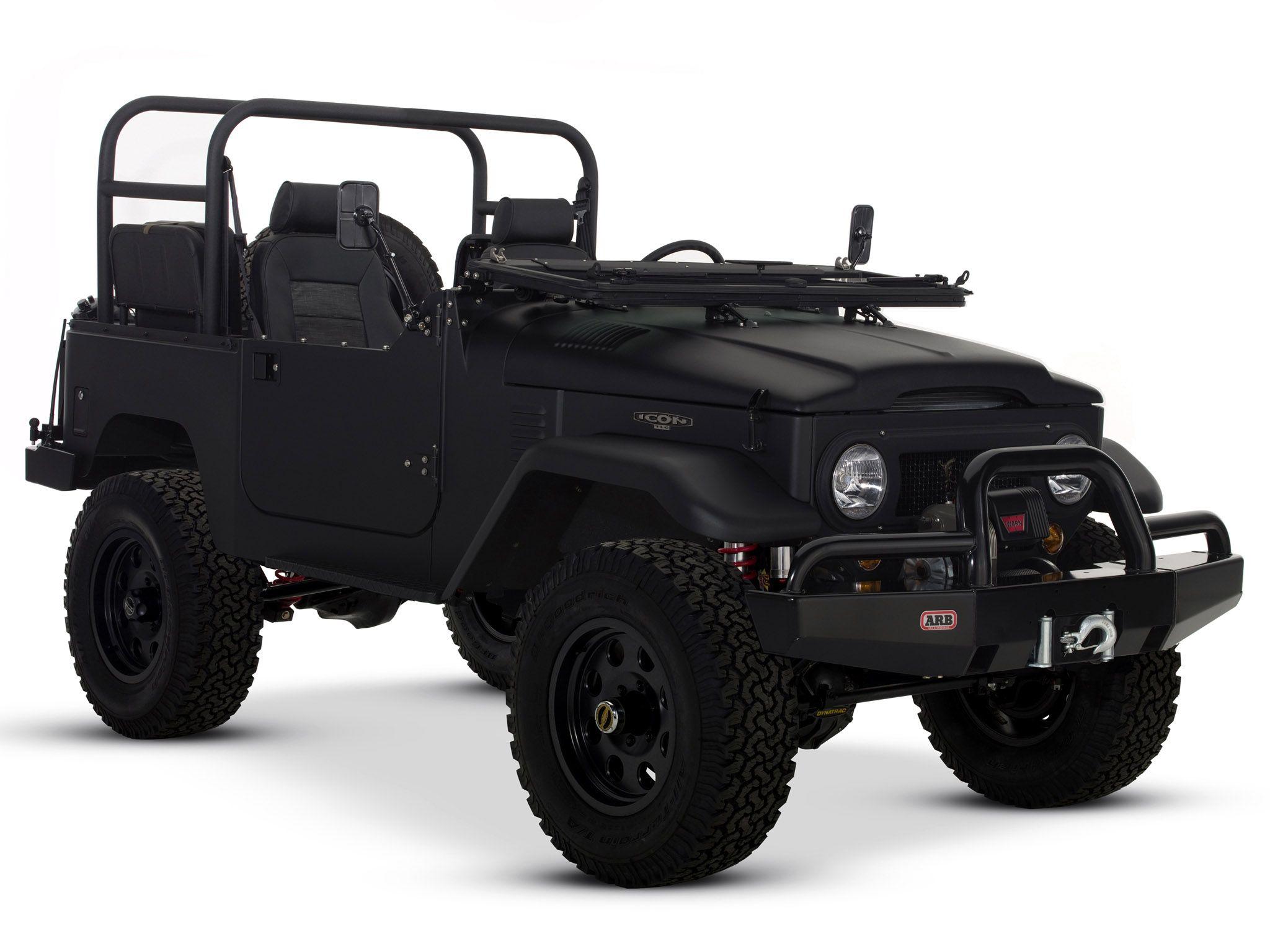 The ICON FJ40 | motors | Coche porsche, Accesorios para jeep