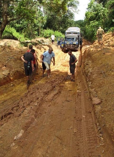 Through the ruts in the road, #Liberia, #WestAfrica #Overlanding