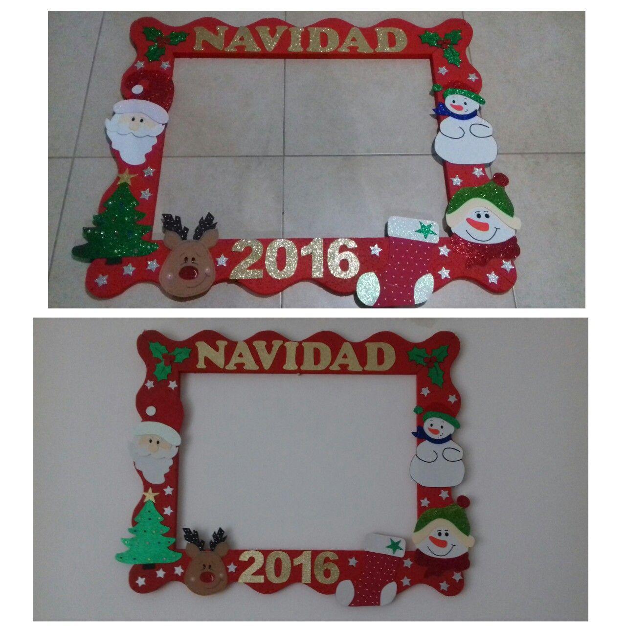 Marco de fotos para Navidad | Photo backdrop | Pinterest | Fotos ...
