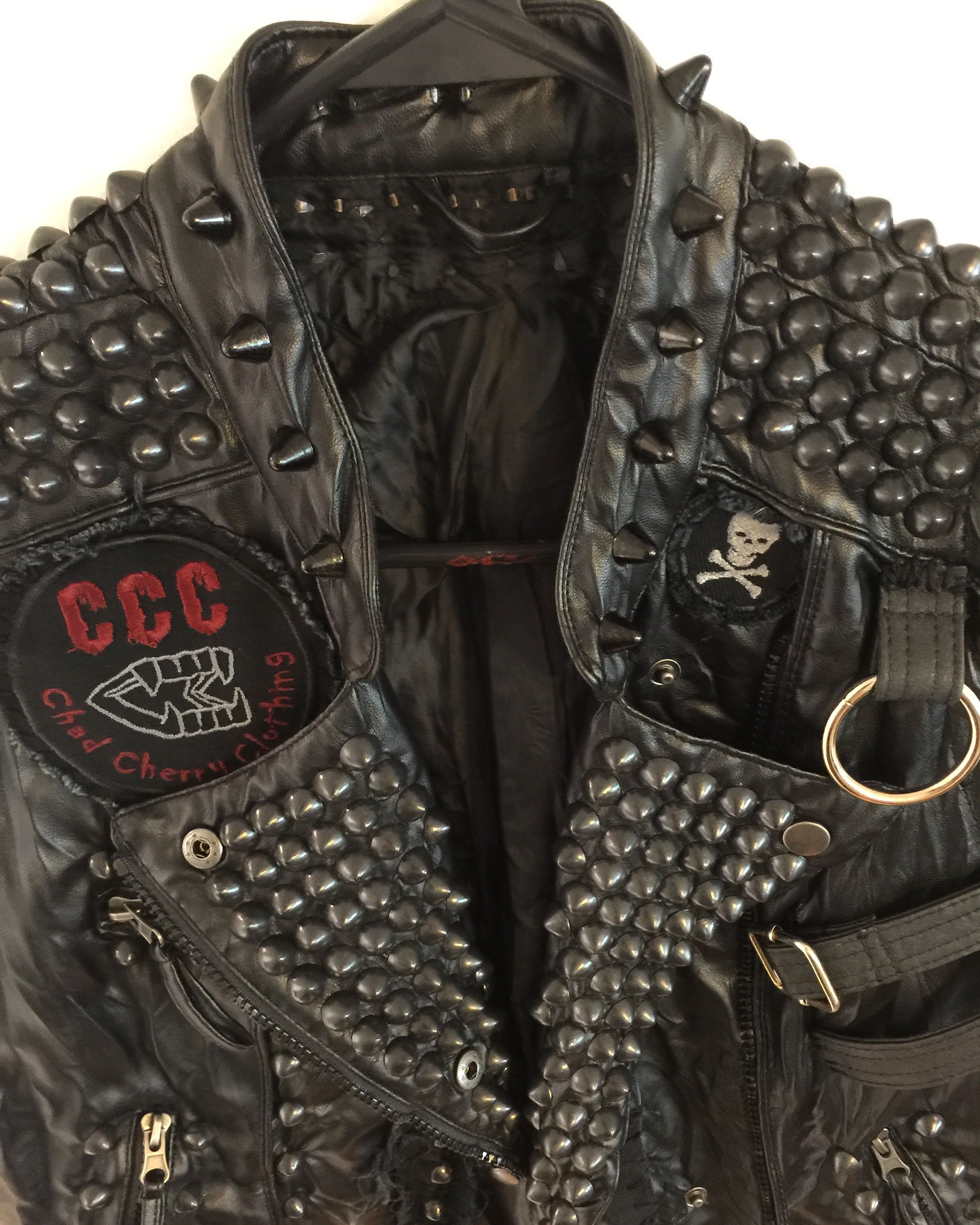 Studded vests from Chad Cherry Clothing.   Chad Cherry Punk Rock ... 5bb18ccb55