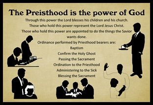 The Priesthood is the power of God