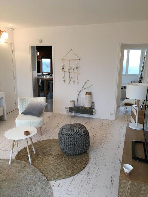 salon la d co scandinave une d co superbe sign e sophie ferjani scandinavian home. Black Bedroom Furniture Sets. Home Design Ideas