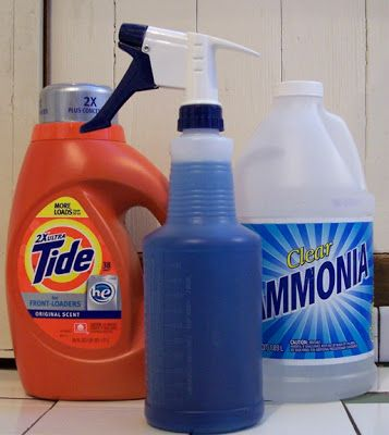 1 1 Ammonia Detergent Stain Remover For Clothing Homemade