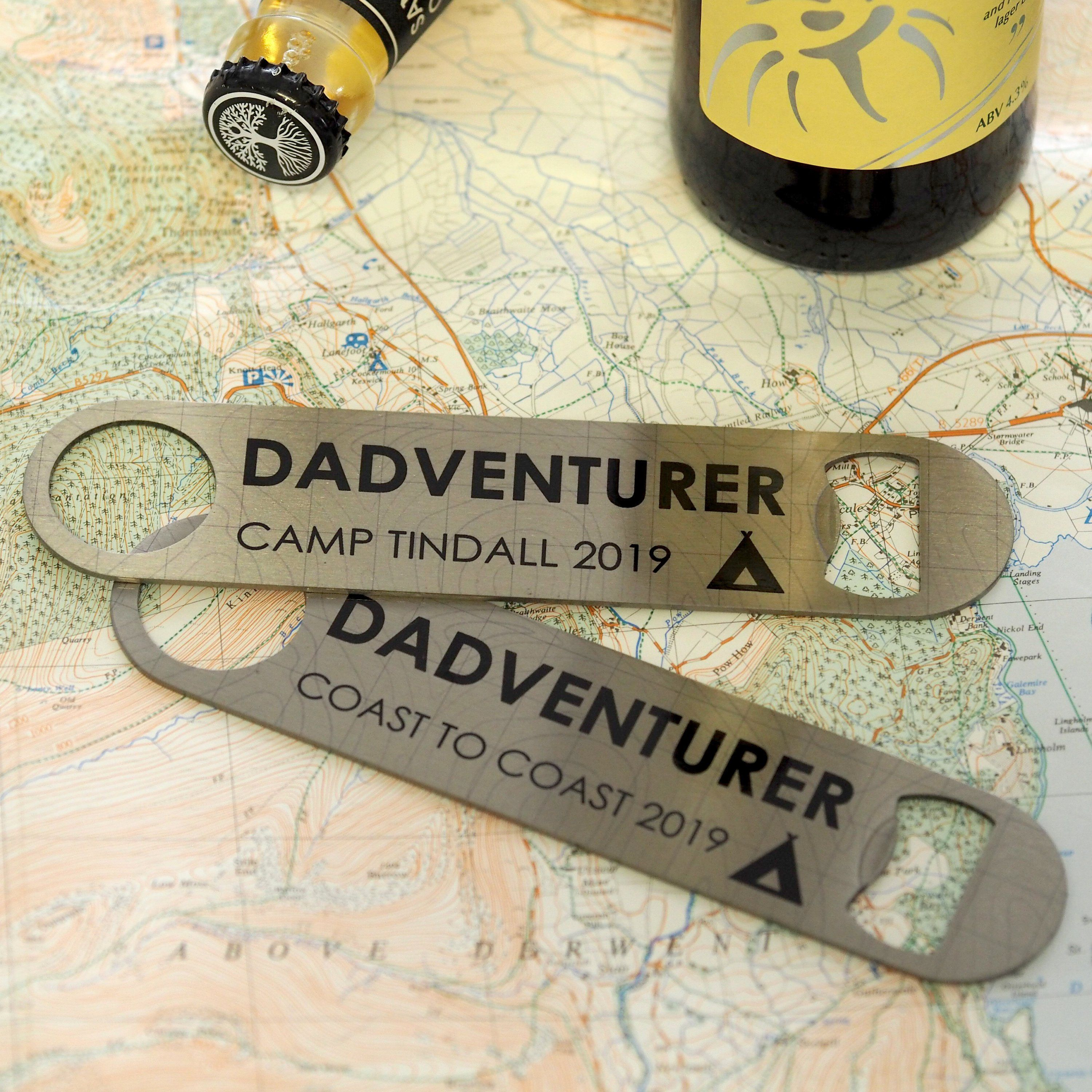 Dad's Favourite Things Father's Day Gift Personalised Bar Blade Bottle Opener