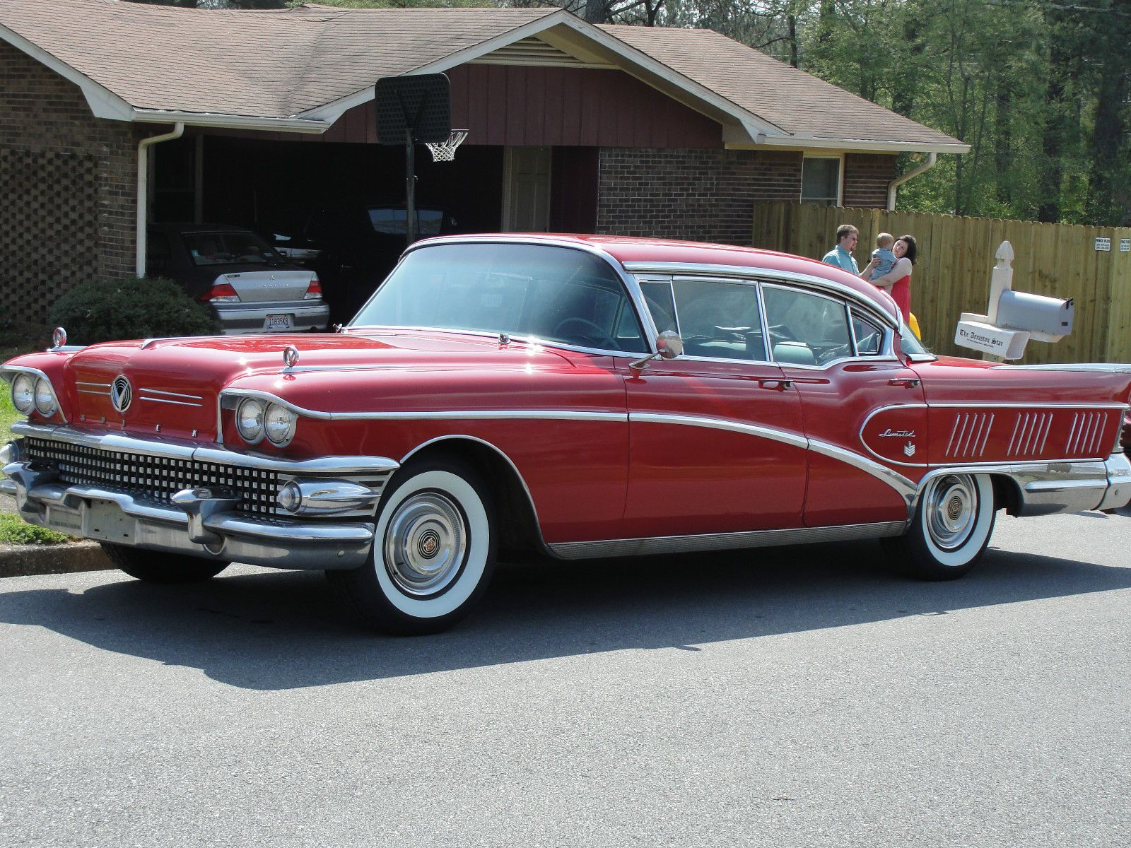 1958 Buick Riviera Limited Sedan