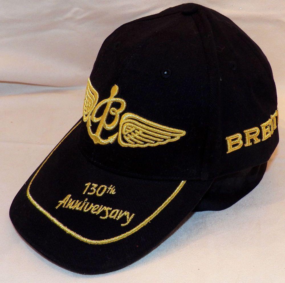5276f1e0da8 Breitling Watch Top Gun Club Baseball Cap Black 130th Anniversary Ltd  Edition  Breitling  BaseballCap