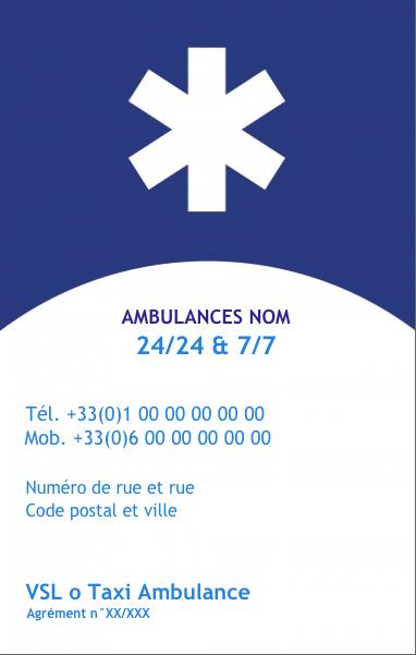 Carte De Visite Pour Profession Assistance Et Sante Modele Vertical Gratuit A Personnaliser En Ligne