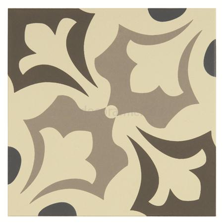 Rococo Decorative Wall Tile Original Style Tiles  Rococo Light Blue Light Grey And Dark Grey