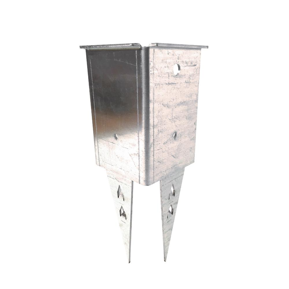 The Post Doctor Fence Post Repair And Mailbox Post Repair Pd10 Fence Post Repair Mailbox Post Vinyl Fence