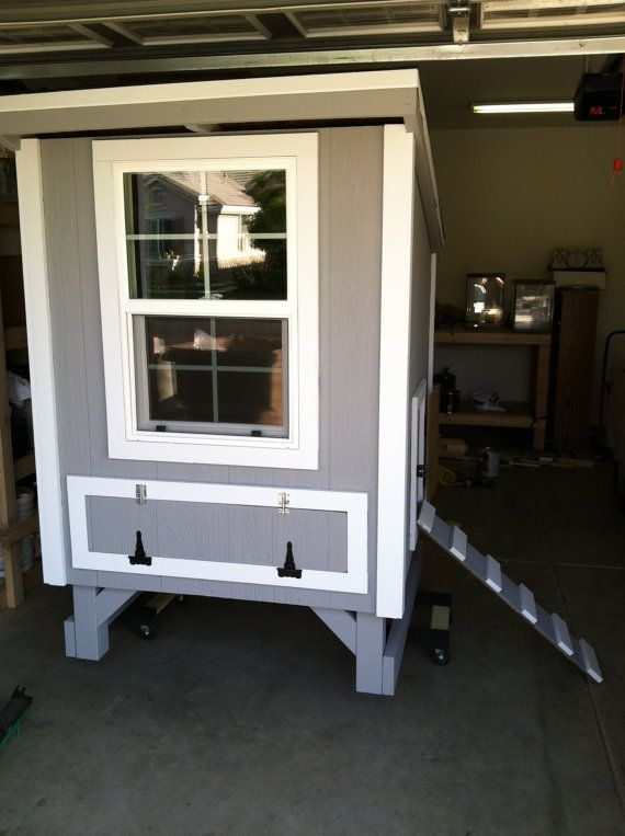 Chicken Coop by EnglerWoodDesigns on Etsy, $900.00