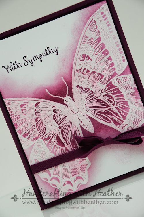Swallowtail Sympathy Card - Stampin' Up!