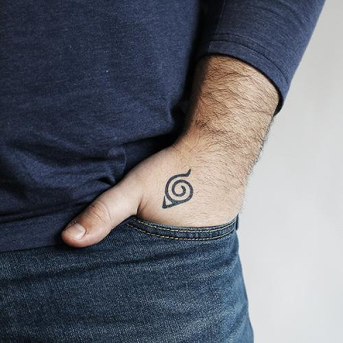 Uzumaki Tattoo - Semi-Permanent Tattoos by inkbox™