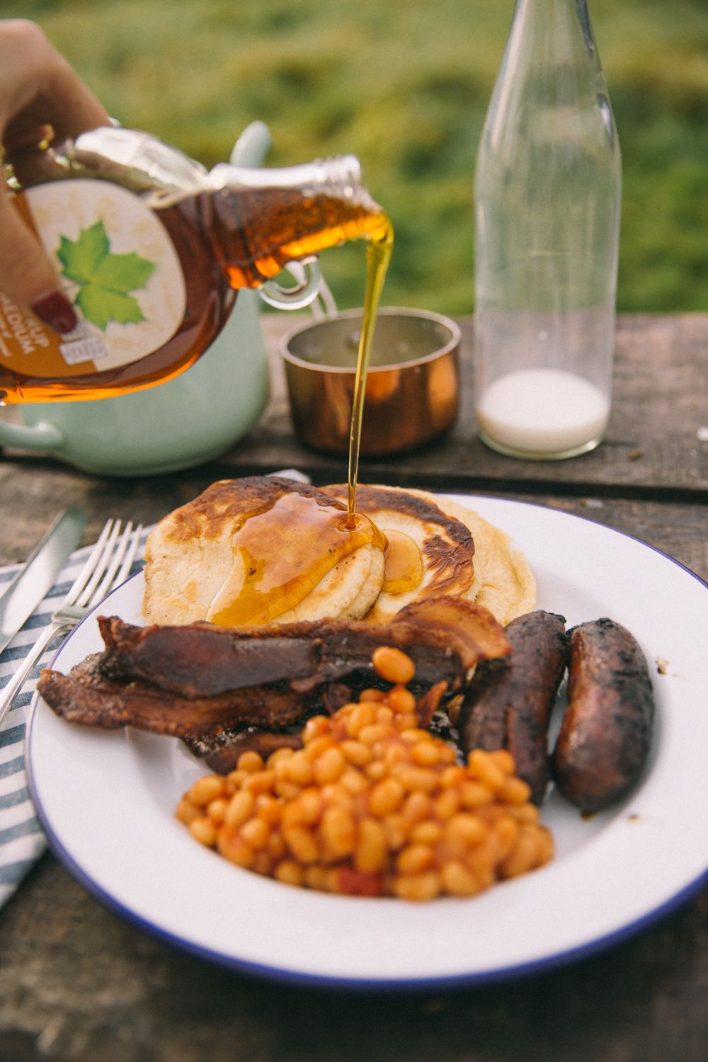 Campfire breakfasts with images campfire breakfast