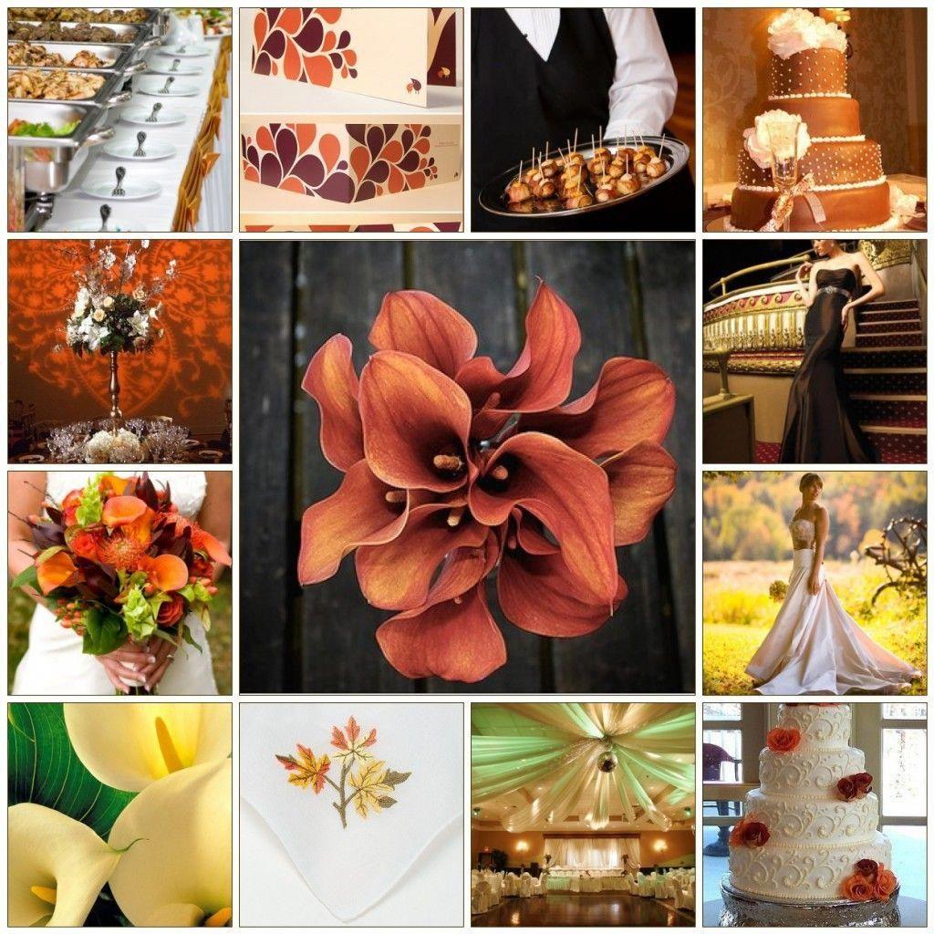 fall wedding | cheap fall wedding ideas: autumn wedding decor on a