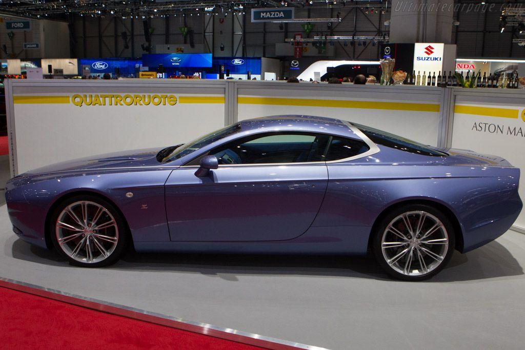 Aston Martin DBS Zagato Coupé Centennial 2014 Geneva