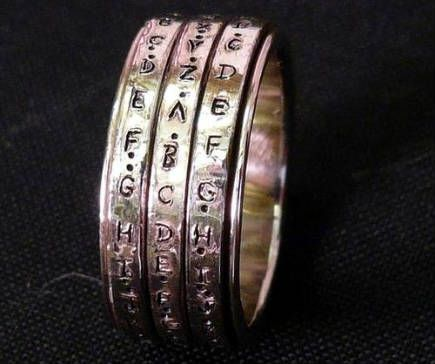 11 weird and wonderful wedding rings