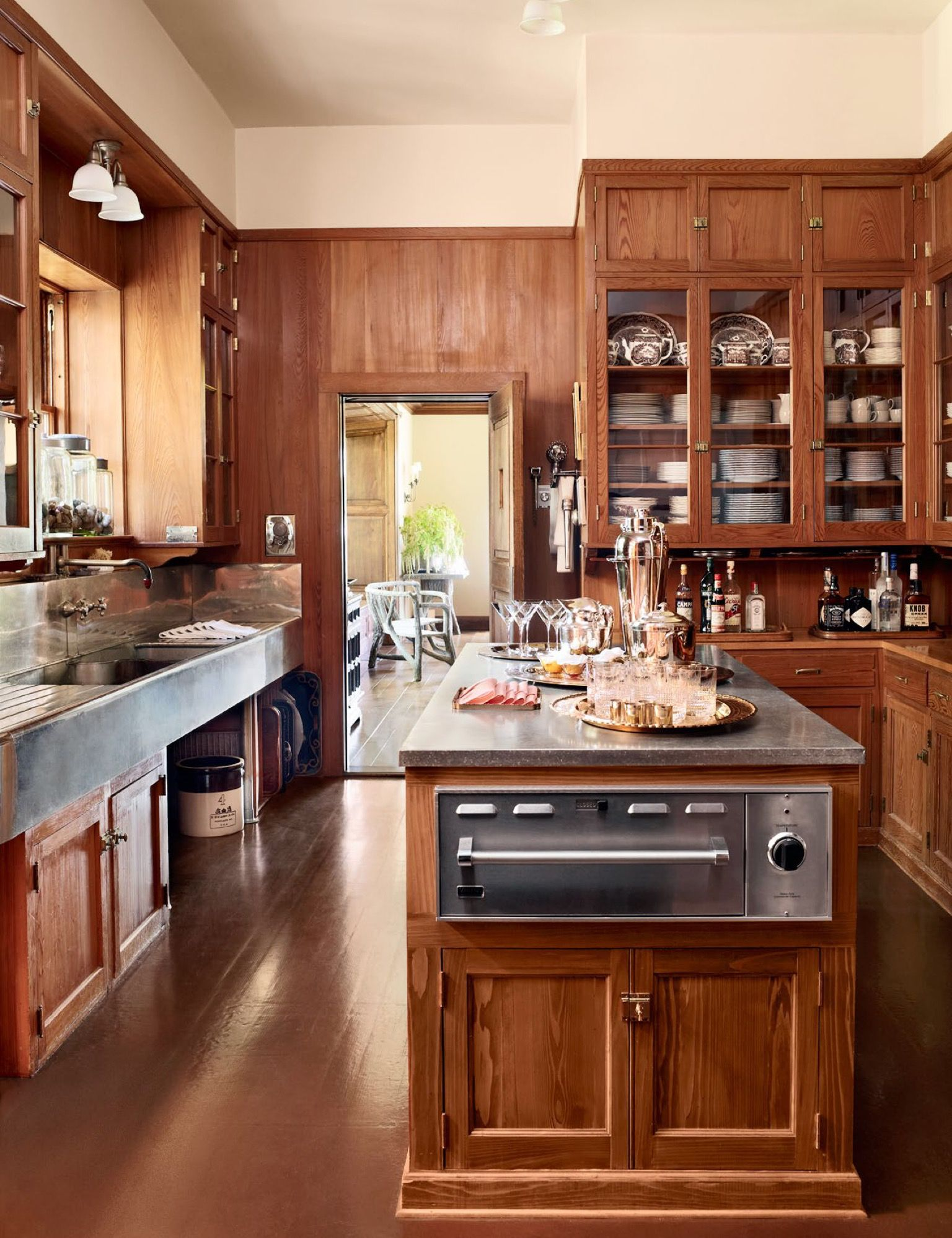 The Original Ford #kitchen Has A Few Upgrades But Kept Its Original  #cabinetry