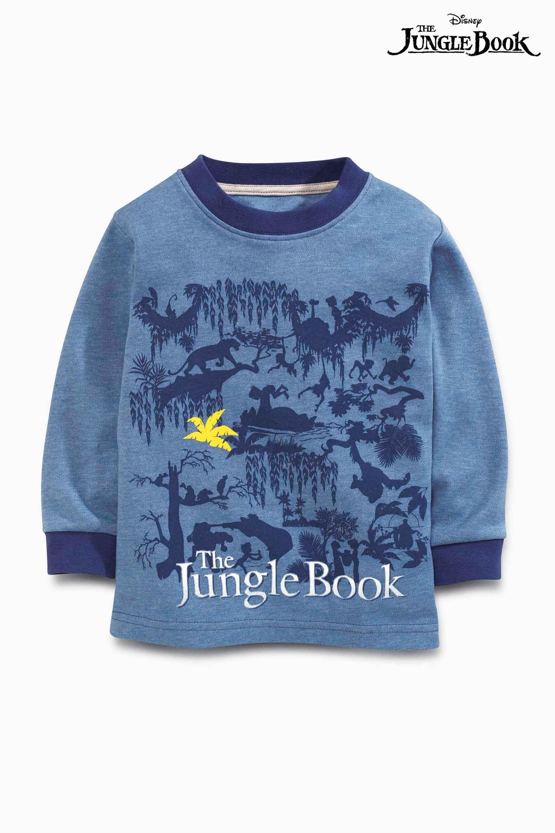 Buy Navy Jungle Book Pyjamas Two Pack (9mths-6yrs) from the Next UK online shop