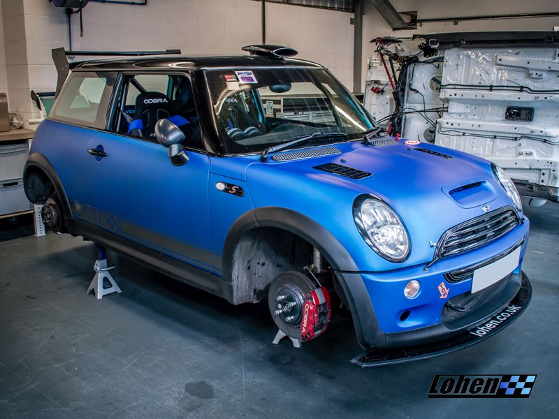 Be Still My Beating Heart Mark S Stunning R53 Is Back For Some Lohen Tlc And A Forged Engine Build Who Wants More Mini Cooper S Mini Cars Mini Cooper Custom