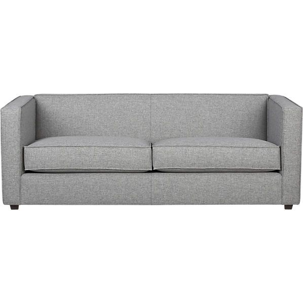 Exceptionnel CB2 Club Grey Sofa Sale Price $1019.00
