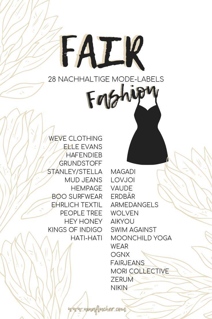 Fesche Fair Fashion – 28 nachhaltige Modelabels | Nachhaltige Mode kaufen #fairfashion #sustainable #sustainablefashion #ecofriendly