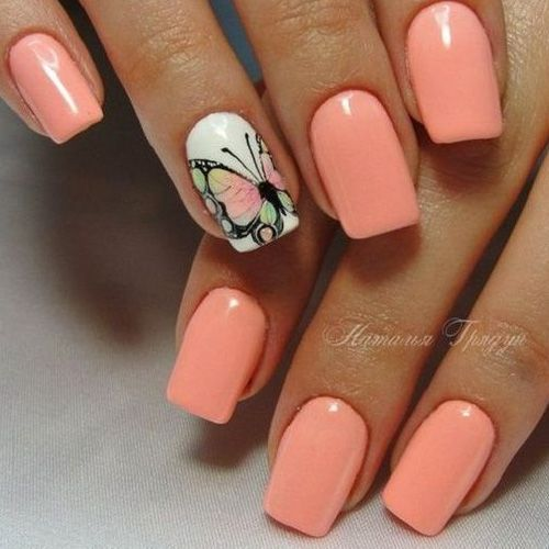 50 Of The Best Spring Nail Art For 2020 Unghie Unghie Arancioni