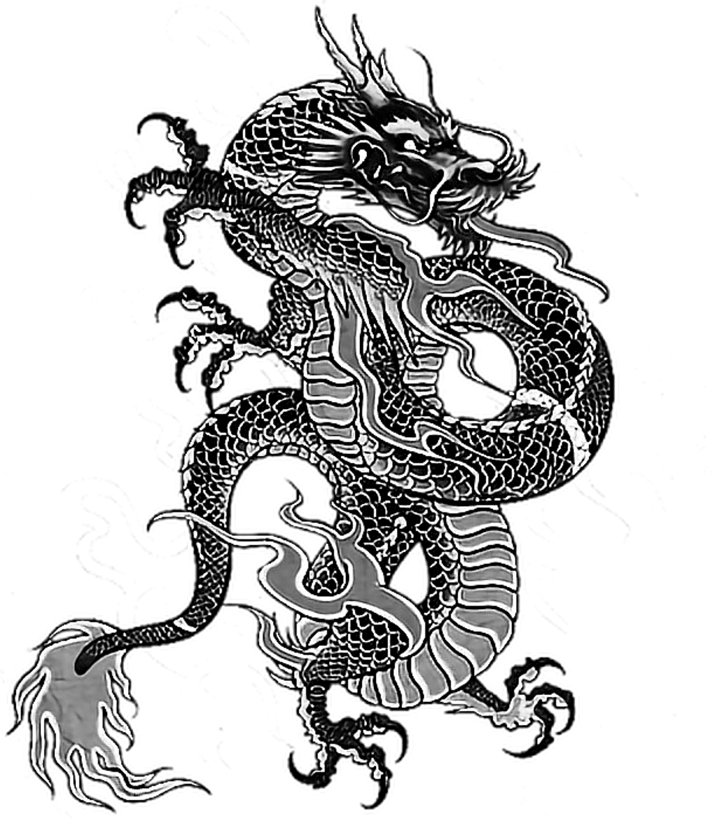 Tattoo Irezumi Dragon Dragonballz Yakuza Ninja Backtatt Japanese Tattoo Symbols Japanese Dragon Tattoos Dragon Face