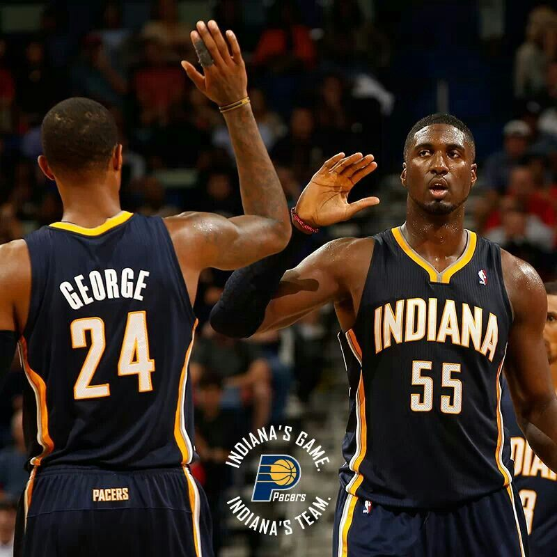 Denver Nuggets Finish Road Trip With Visit To Lebron James: Roy Hibbert & Paul George