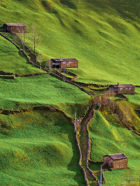 """Otra forma de vivir"" (""Another way of life"")  - Asturias, #Spain"