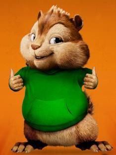 Theodore - from Alvin and The Chipmunks.  Love this little dude!