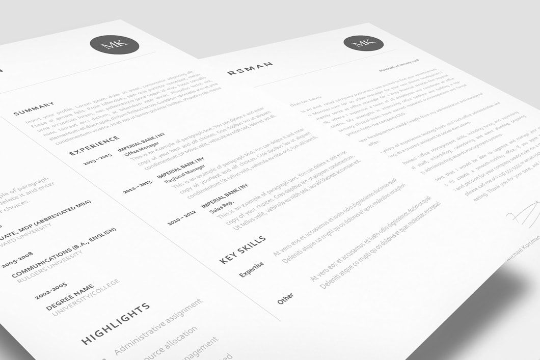 Classic resume template 120220 templates by resumeway