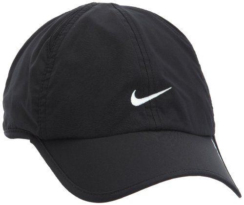 Amazon.com : Womens Nike Featherlite 2.0 Adjustable Hat White/Black  613968-100
