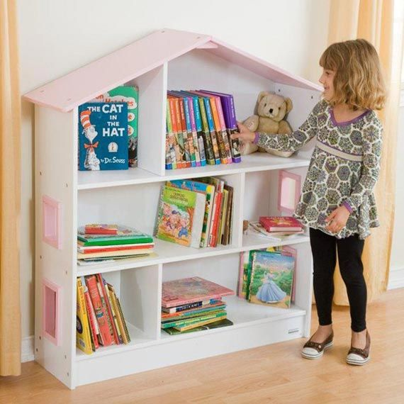 Best Dollhouse Shaped Bookcase Ideas Dollhouse Bookcase 400 x 300
