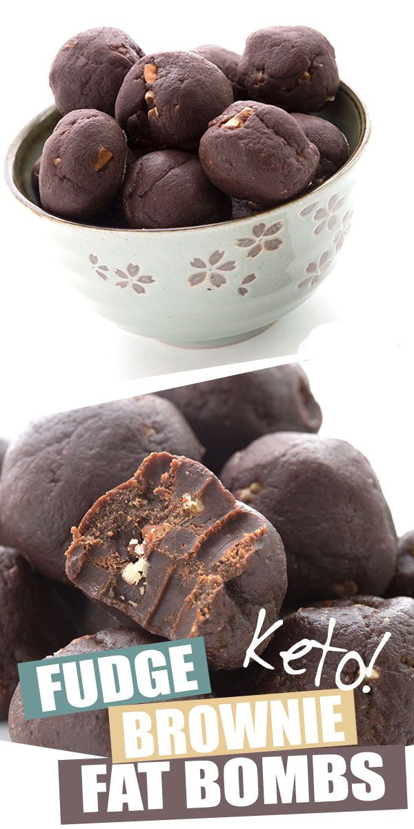 Brownie Fat Bombs These keto brownie fat bombs are easy, delicious, and they store and travel really well. A perfect make-ahead snack to help you stick to your healthy low carb diet. With healthy fats from ghee and cocoa butter. Kids love them too and I took them all the way to Australia last year!