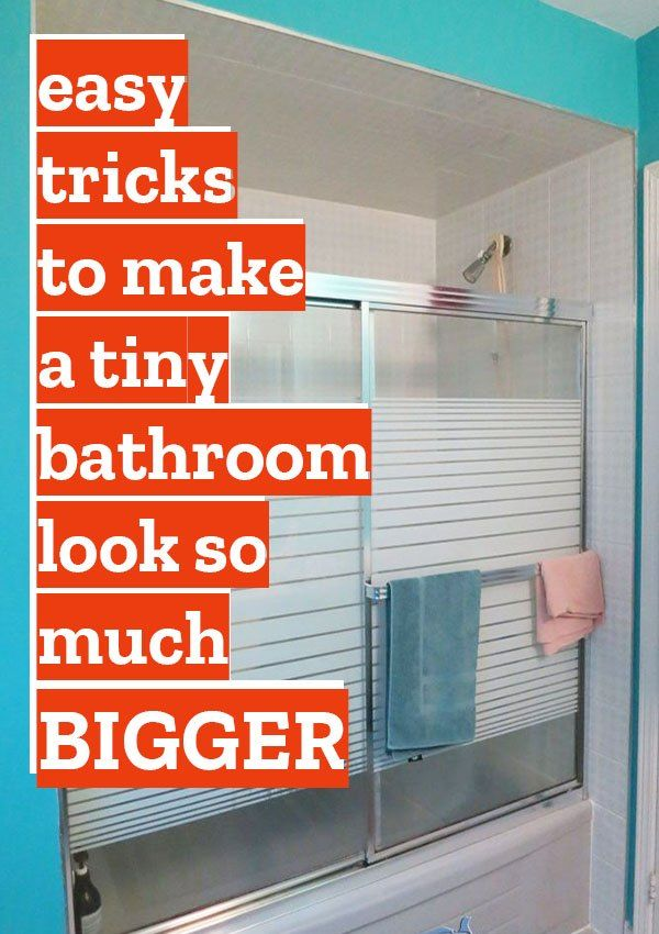 Copy This Clever Hack To Get More Storage Space In Your Tiny Bathroom