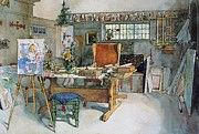"""New artwork for sale! - """" The Studio 1895 by Larsson Carl """" - http://ift.tt/2CqrZAT"""