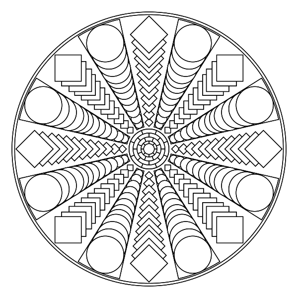 Free Printable Mandala Coloring Pages Coloring Pages To Help You