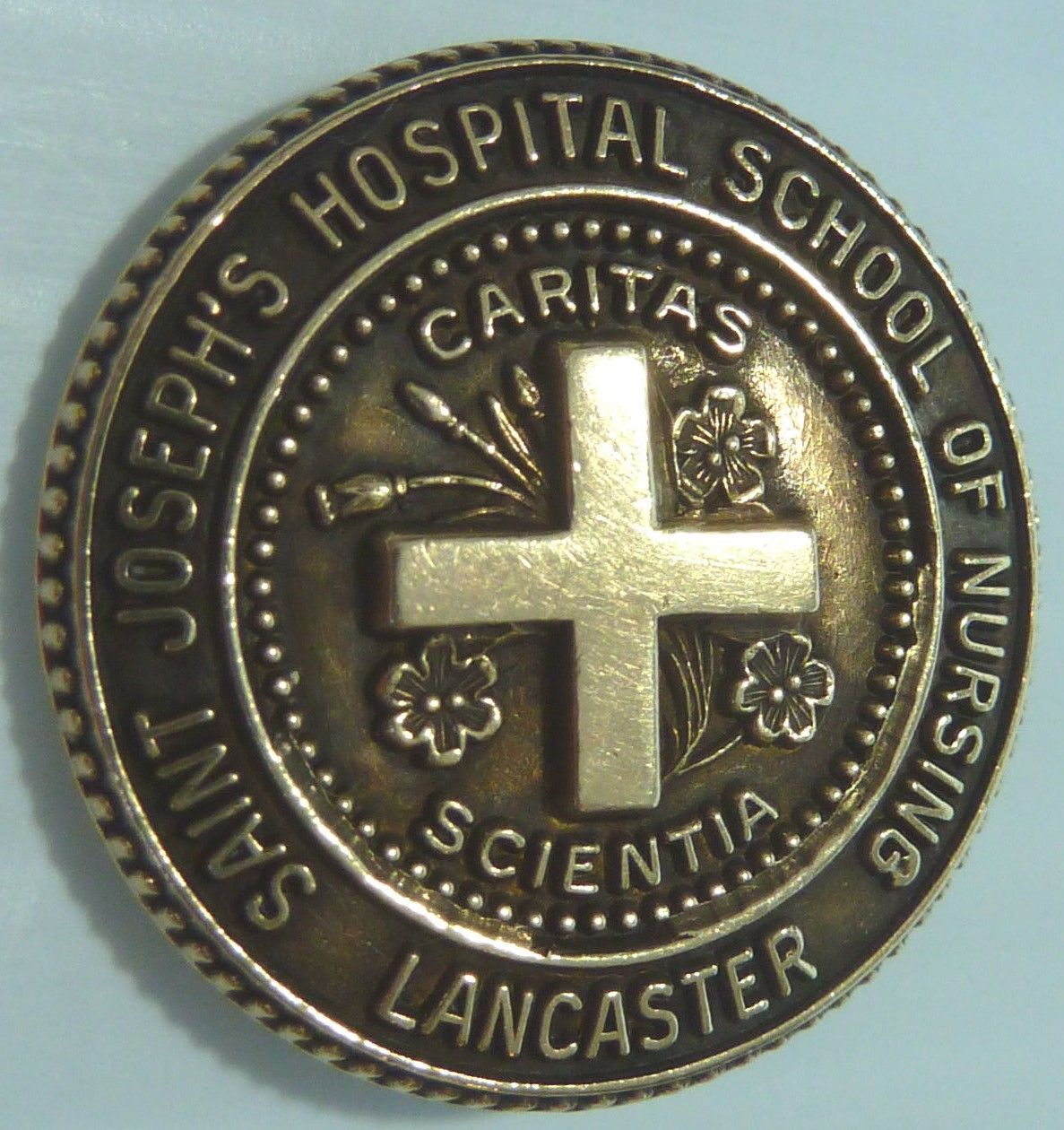St. Joseph Hospital SON pin, Lancaster, PA | Nursing Pins Plus ...